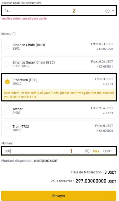 Binance confirm payment