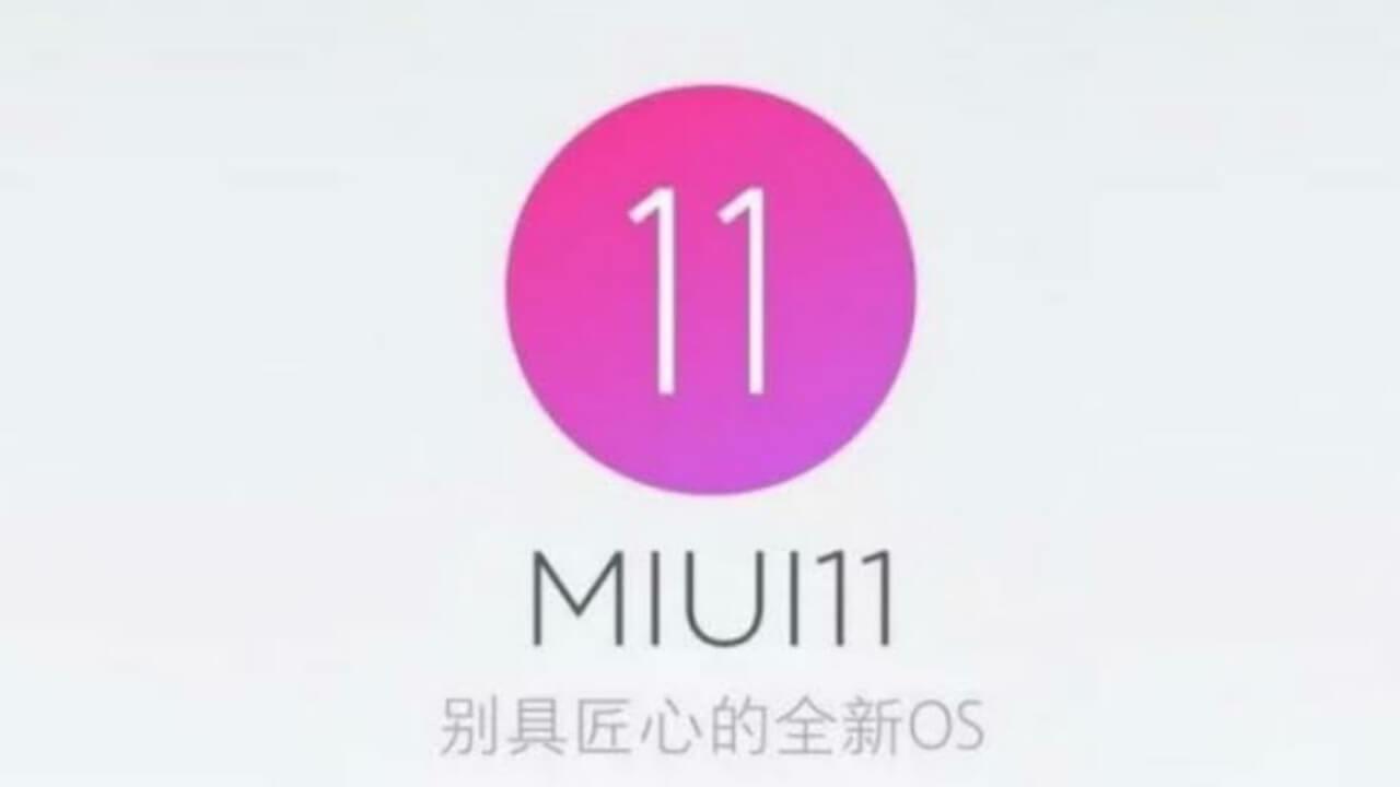 MIUI 11 UPADTE 2019
