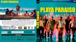 CARATULA PLAYA PARAISO - PARADISE BEACH 2019 [COVER BLU-RAY]