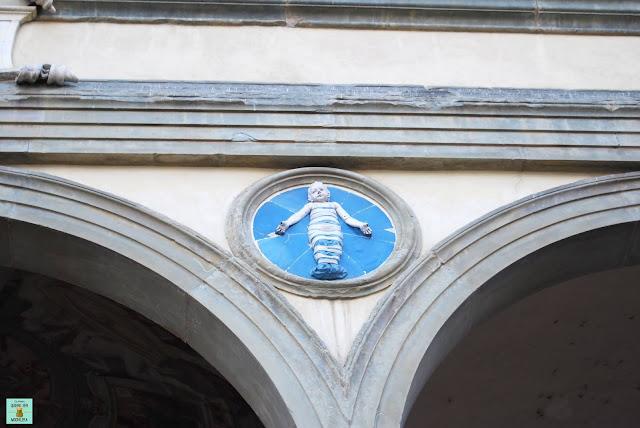 Hospital de los Inocentes en Florencia