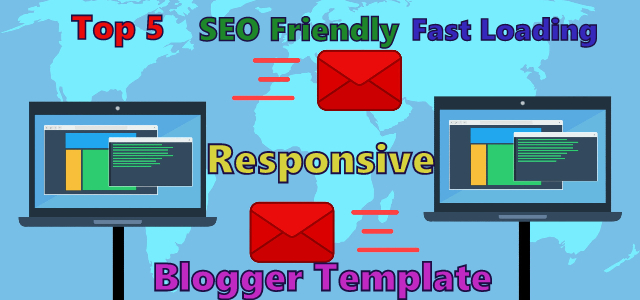 SEO Friendly Fast loading Blogger Template Free