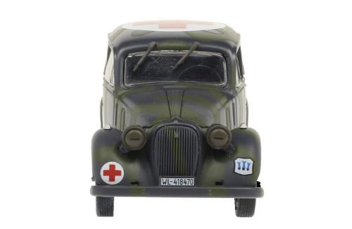 SIMCA 8 1:43, voitures militaires de la seconde guerre mondiale