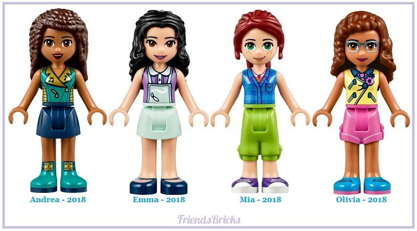 2018 Changes to LEGO Friends