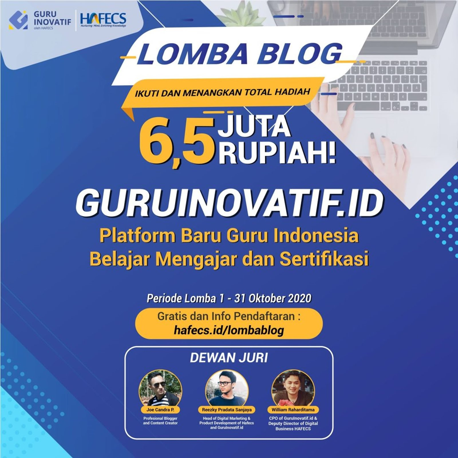 Lomba Blog GuruInovatif.id