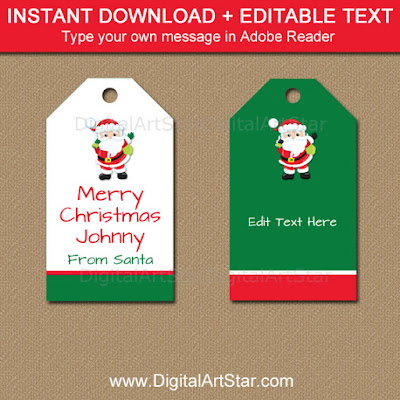 Santa tag download