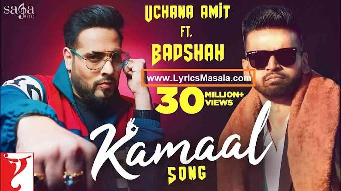 Kamaal Song Lyrics Badshah Download - LyricsMasala