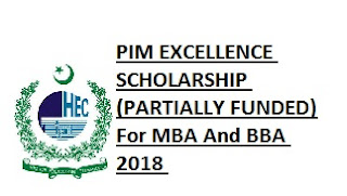 PIM Scholarship For MBA & BBA, Description of Scholarship, Eligibility Criteria, Application Deadline, Method of Applying, Qualifications, Course Duration,