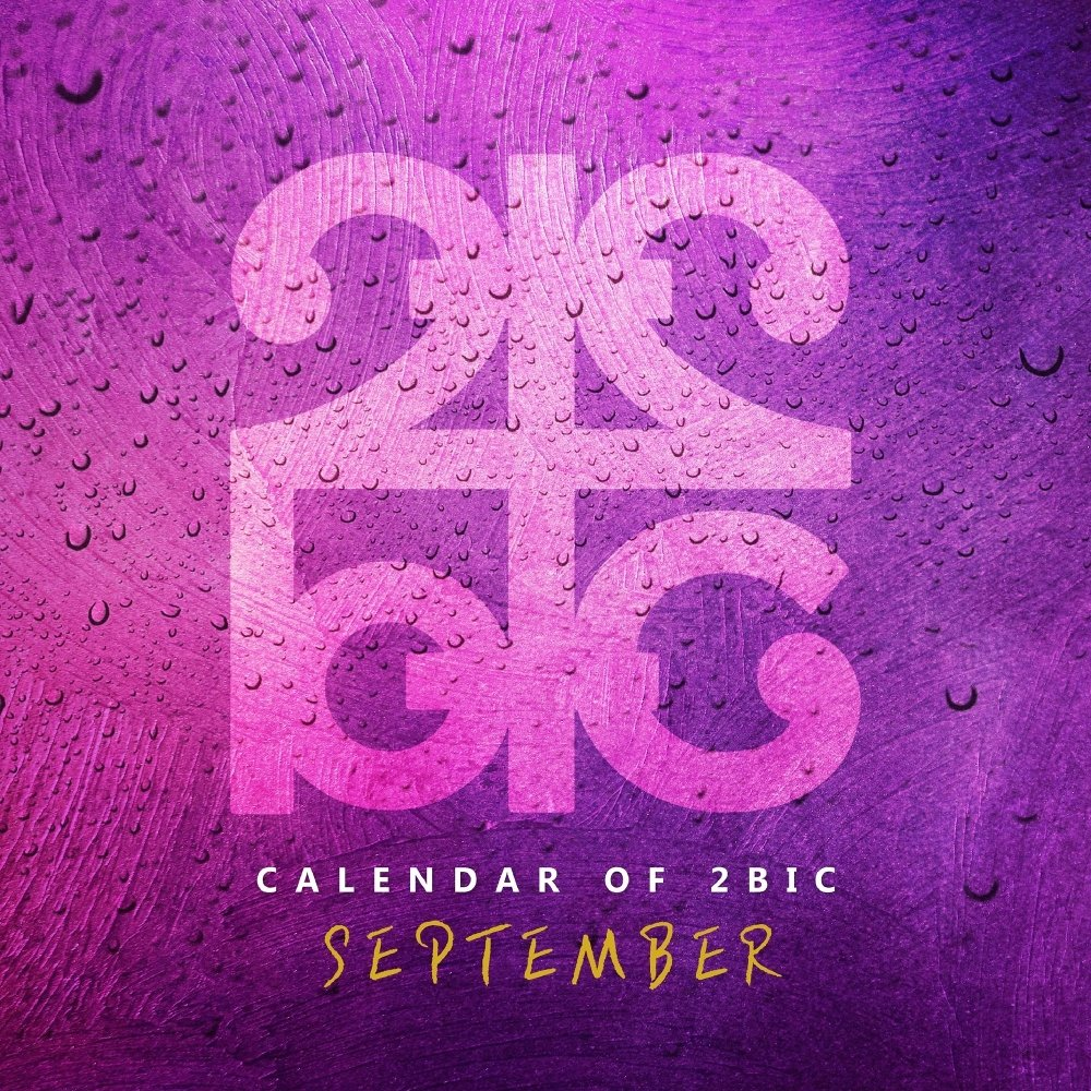 2BiC – Calendar of 2BIC (September) – Single