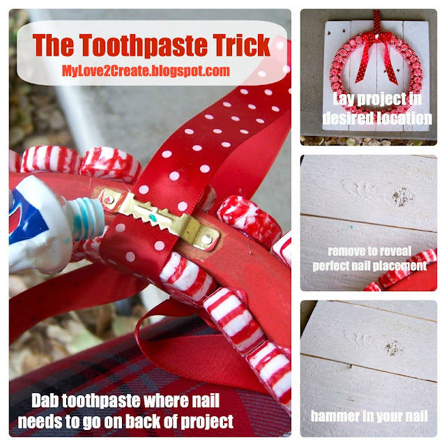 the toothpaste trick
