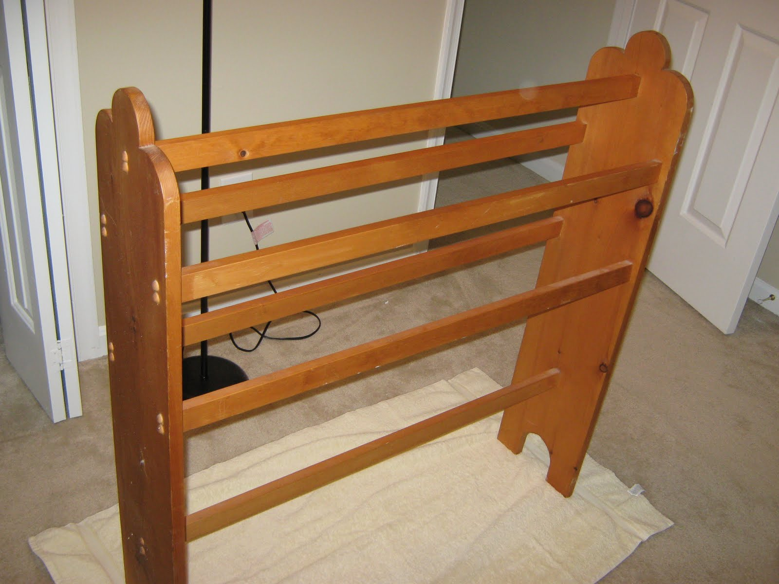 Well-liked Quilt Rack Plans Woodworking With Elegant Example | egorlin.com BC16
