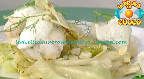 Bocconcini di coda di rospo con maionese al finocchio ricetta Bongiovanni da Prova del Cuoco