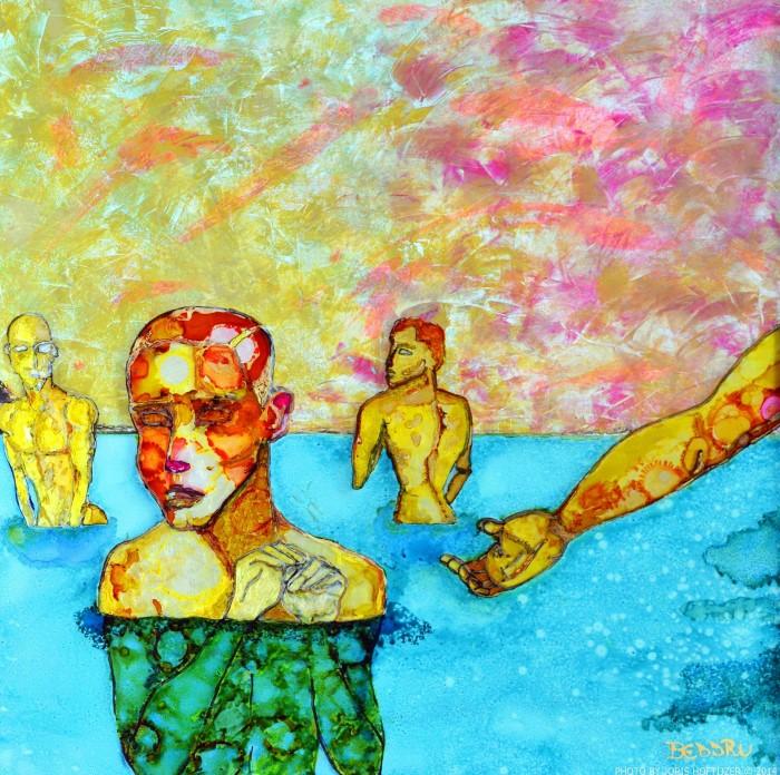 Итальянский художник-самоучка. BEDDRU