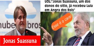 Jonas Suassuna, um dos donos do sítio, já recebeu Lula em Angra dos Reis