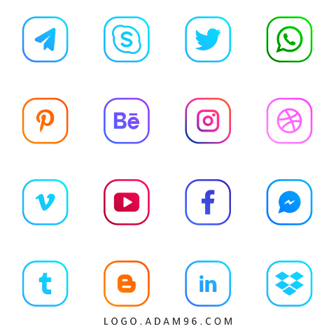 Download Social Media Logo High Quality Official Logo