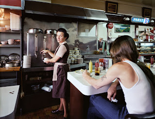 1980s coffee shop