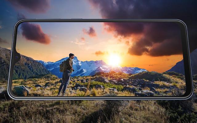 Layar Samsung Galaxy M20