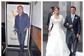 """Jose Alberto """"El Güero"""" Castro habla sobre el matrimonio de Angelica Rivera con Enrique Peña Nieto"""