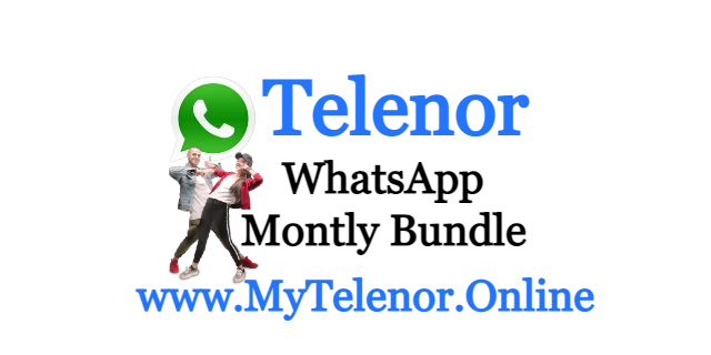 Telenor Monthly WhatsApp Package price and detail | 2021