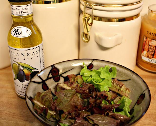 Briannas Italian Vinaigrette on Salad