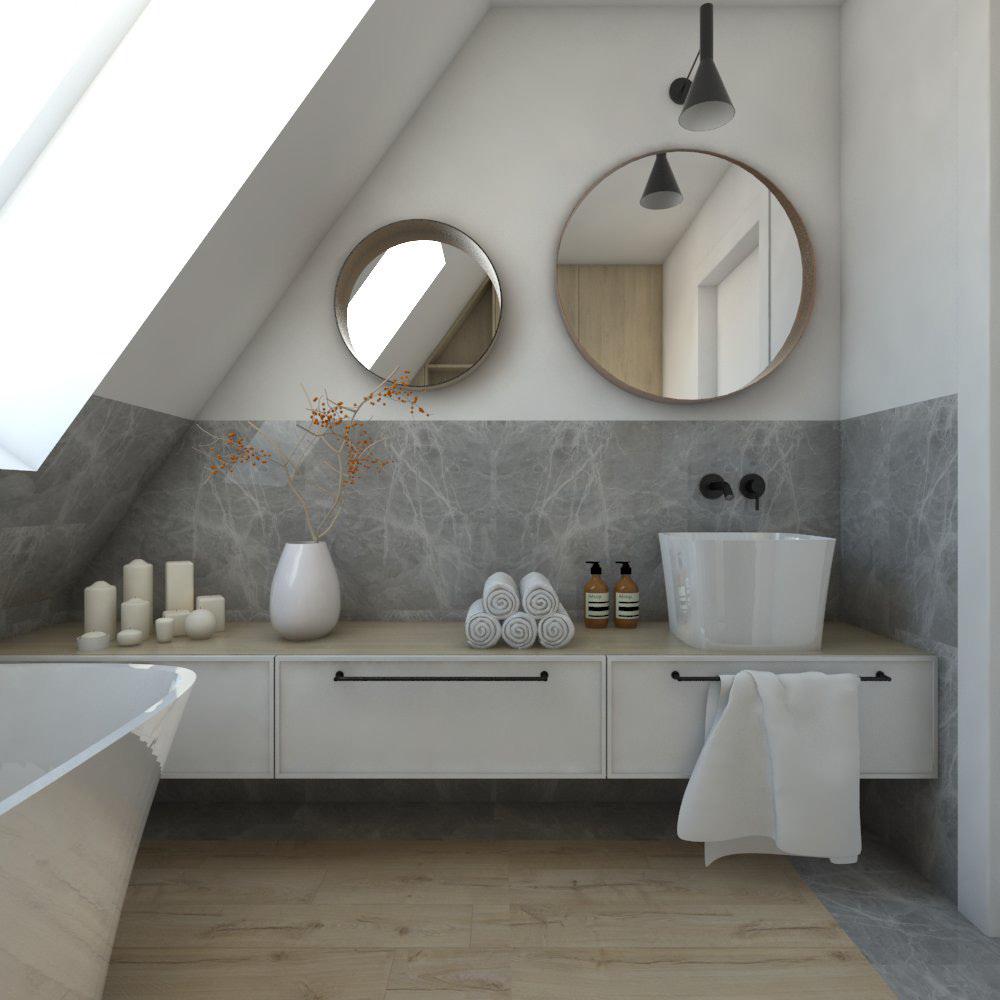 zasady w projektowaniu łazienki