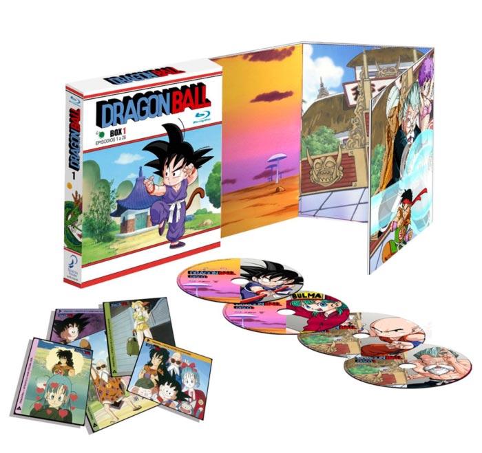 Dragon Ball Box 1 Blu-ray - Selecta Visión