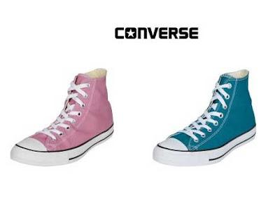 converse de color rosa o azul