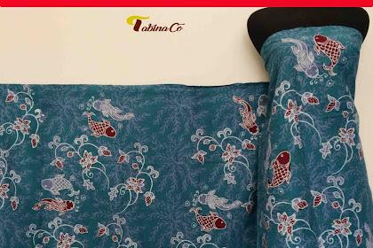 Pusat seragam kain batik tulis bandeng lele Lamongan