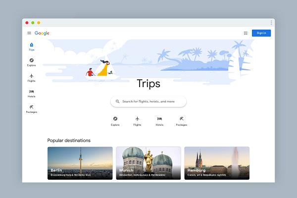 غوغل تطلق للتو هذا الموقع الجديد للتخطيط والتنظيم للسفر