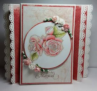 Morgan Fitzsimons Floral 6 Stamp