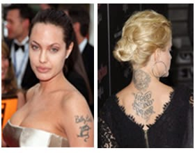 Tatuajes Malos de los Famosos