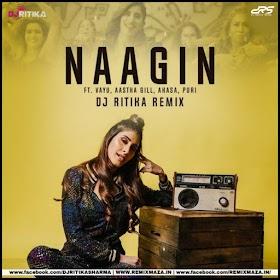 Naagin (Aastha Gill - Akasa) DJ Ritika Remix