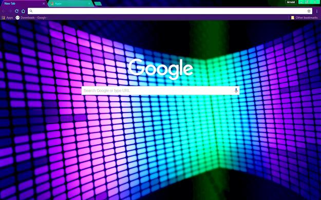 Lights Google Theme