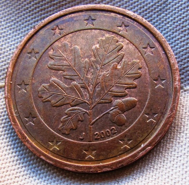 2002 2 cent euro coin value