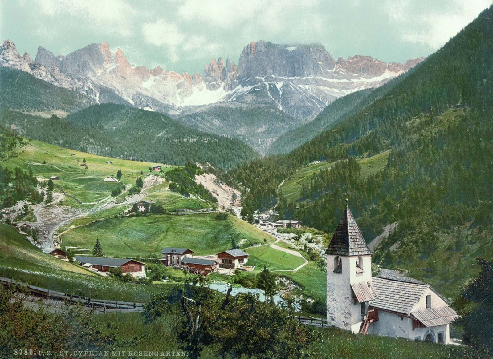 Rosengarten and St. Cyprian