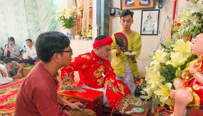 Hầu Đồng một nghi thức trong hoạt động tín ngưỡng dân gian | Bộ sưu tập ảnh khoảnh khắc