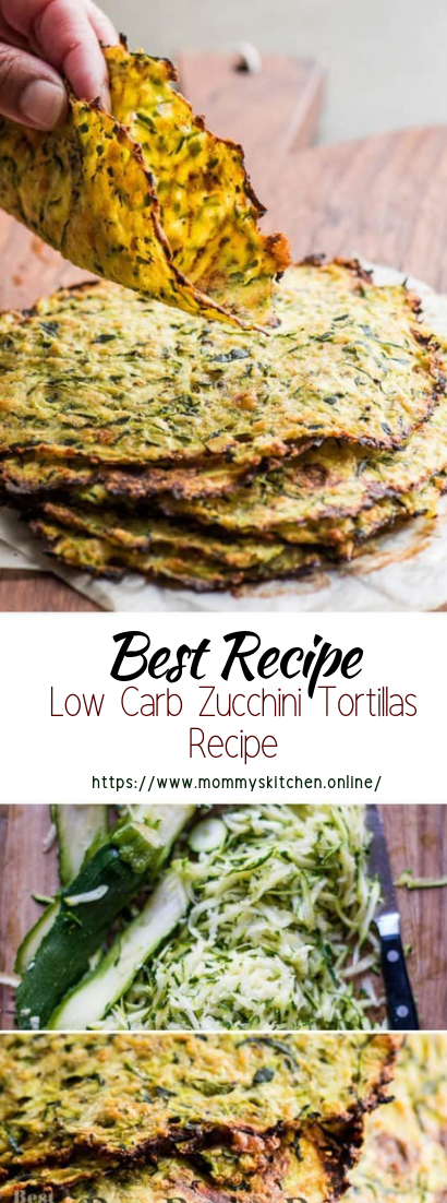Low Carb Zucchini Tortillas Recipe #vegan #vegetarian #soup #breakfast #lunch