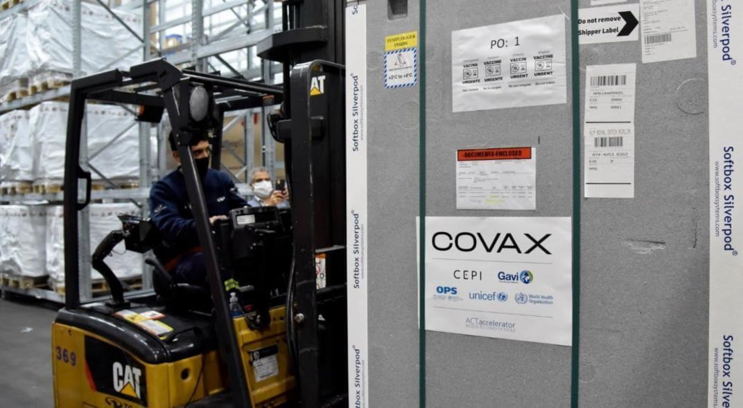 Vacunas Covax en Argentina
