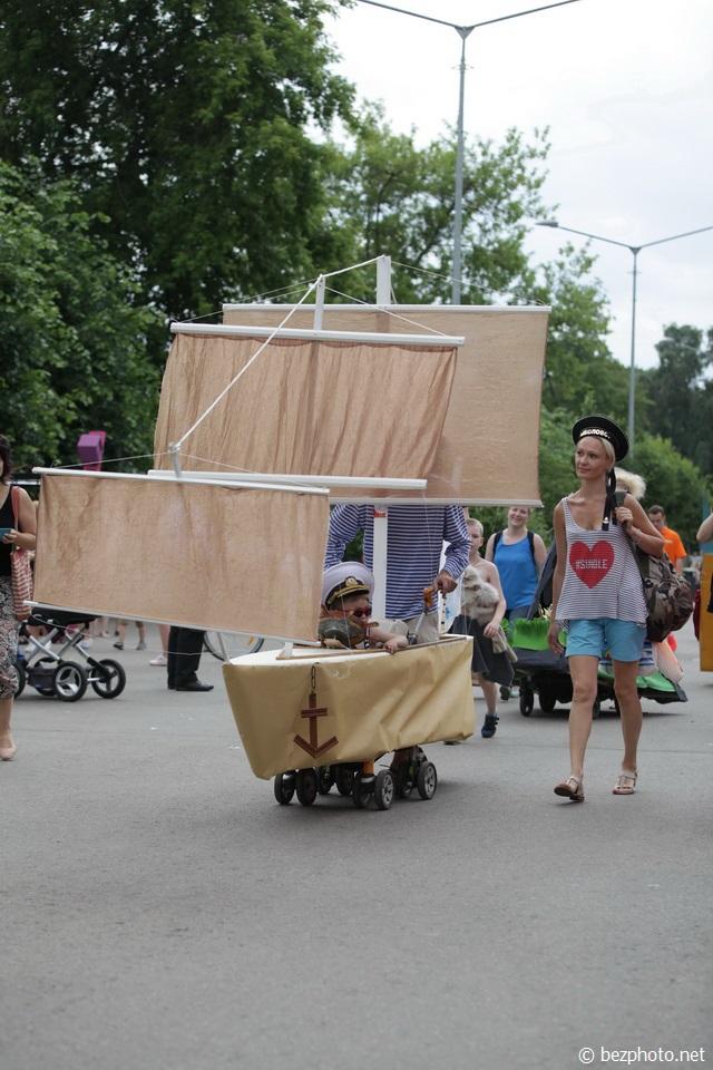 парад колясок 2016 фото