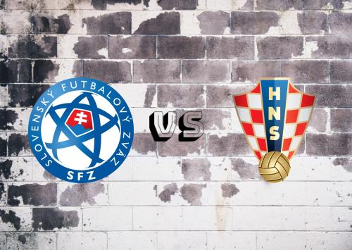 Eslovaquia vs Croacia  Resumen