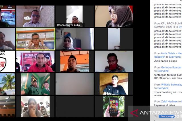 Geger, Tiba-Tiba Video Terlarang Muncul Saat Webinar Sosialisasi KPU