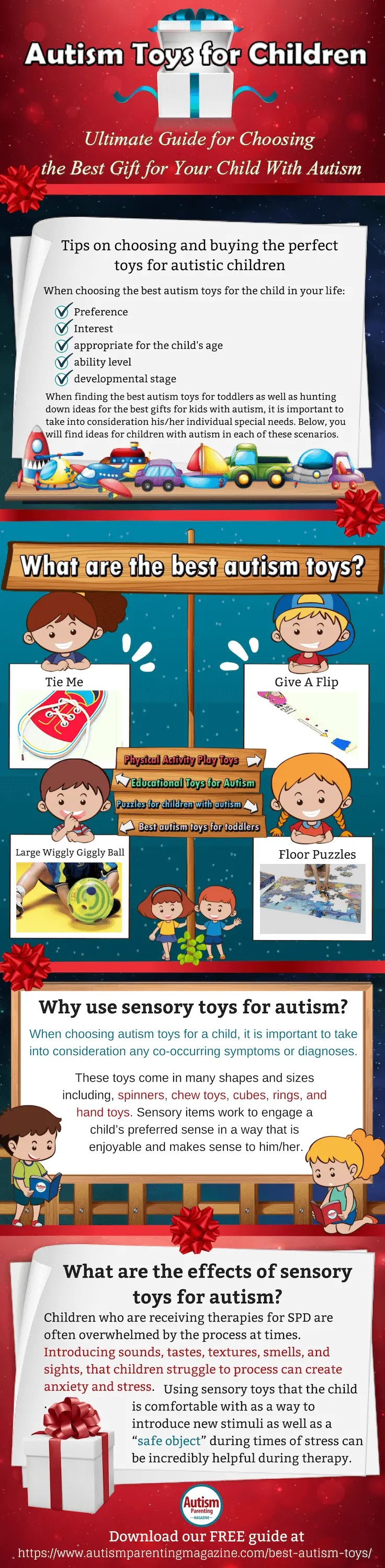 Autism Toys for Children: Ultimate Guide for Choosing the Best Gift for Your Child With Autism #infographic