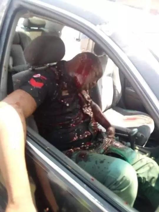 On Monday 1st July, 2019, Gunmen Brutally Murder Two Policemen In Port Harcour