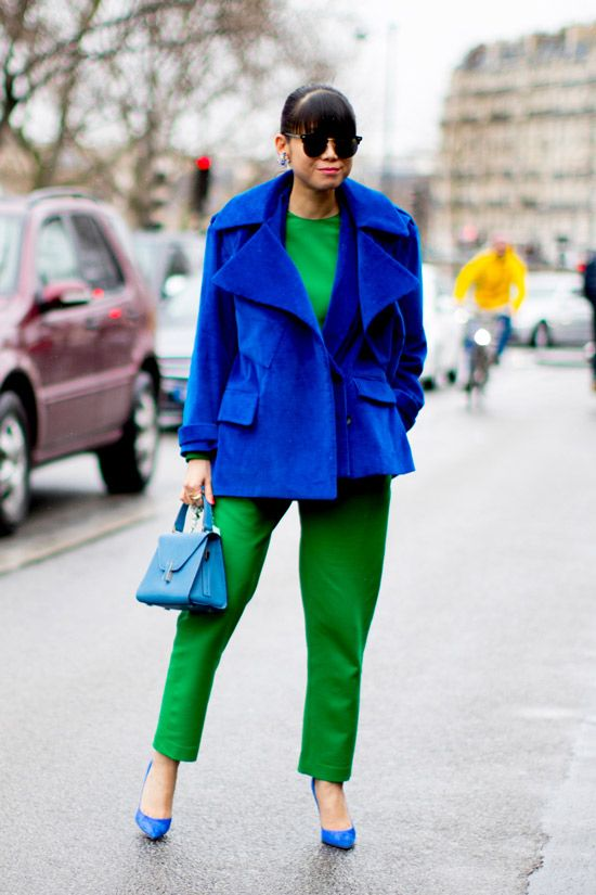 Colour Combo: Emerald + Cobalt