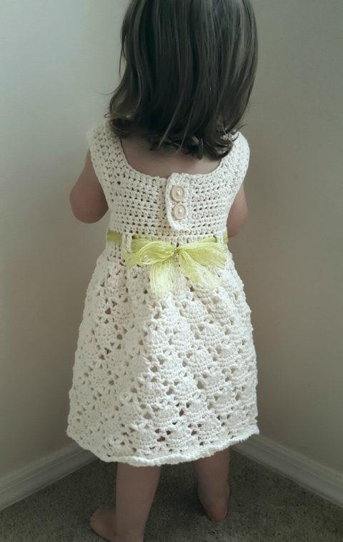 Crochet Pattern Children's Dress