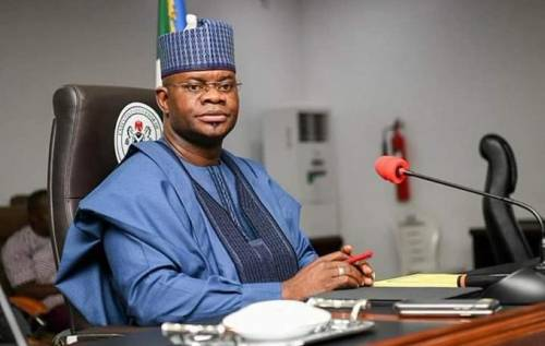 Nigerians Blow Hot As Popular Show Promoter Endorses Yahaya Bello For President In 2023