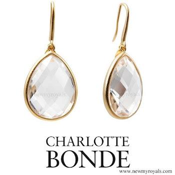 Crown Princess Victoria Jewelry Charlotte Bonde Sophie Petite Earrings