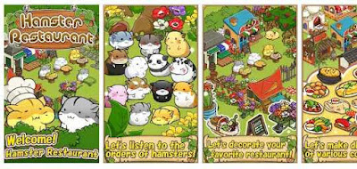 Game Hamster Restaurant Cooking Games