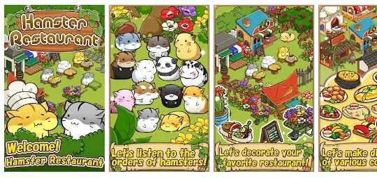 Game Hamster Restaurant Cooking Games