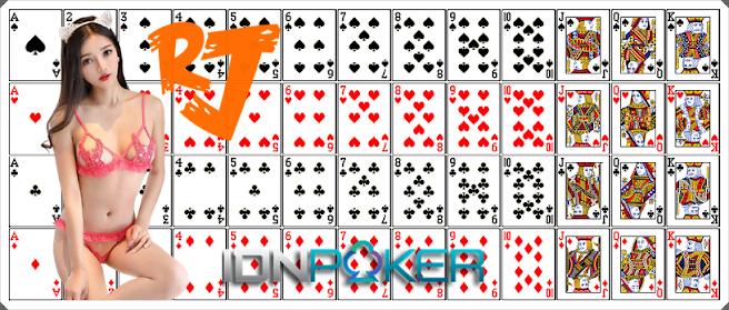 Logo atau Lambang pada Kartu Remi Judi IDN Poker