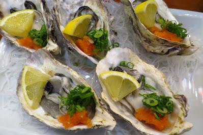 Keria Japanese Restaurant, hokkaido oysters